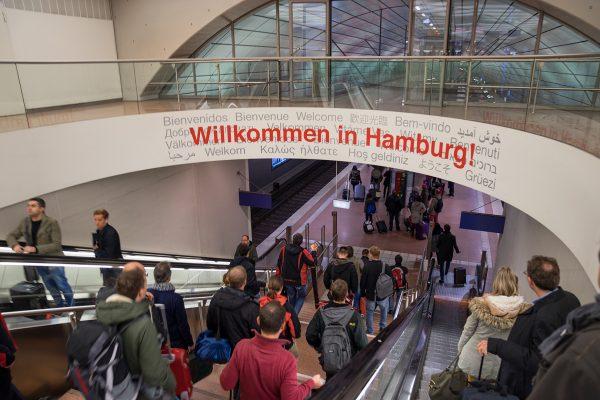 Betriebsausflug nach Hamburg